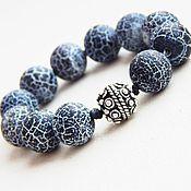 Фен-шуй и эзотерика handmade. Livemaster - original item Rosary Earthy Dragon in silver. Handmade.
