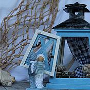 Для дома и интерьера ручной работы. Ярмарка Мастеров - ручная работа С мечтою о Море... Домик интерьерный Морской. Handmade.