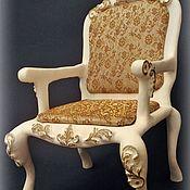 Мебель для кукол ручной работы. Ярмарка Мастеров - ручная работа Кукольное кресло. Handmade.