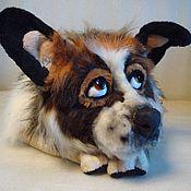 Куклы и игрушки ручной работы. Ярмарка Мастеров - ручная работа портрет собаки. Handmade.
