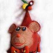 Аксессуары ручной работы. Ярмарка Мастеров - ручная работа обезьяна,шапка. Handmade.