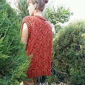 """Одежда ручной работы. Ярмарка Мастеров - ручная работа Жилет-кардиган """"SuperWool"""" (меринос). Handmade."""