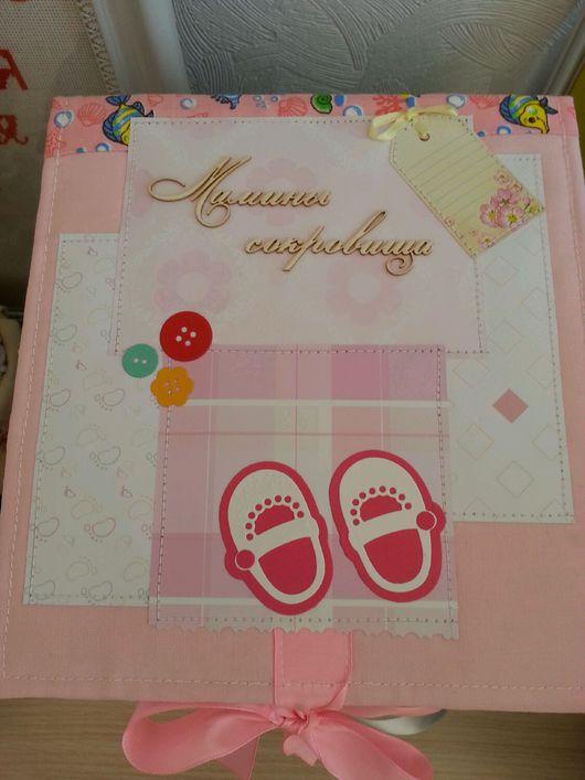 Подарки для новорожденных, ручной работы. Ярмарка Мастеров - ручная работа. Купить Коробка Мамины сокровища. Handmade. Мамины сокровища на заказ