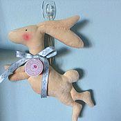 Куклы и игрушки ручной работы. Ярмарка Мастеров - ручная работа Тильда-кролик, навеяно Льюисом Керолом. Handmade.