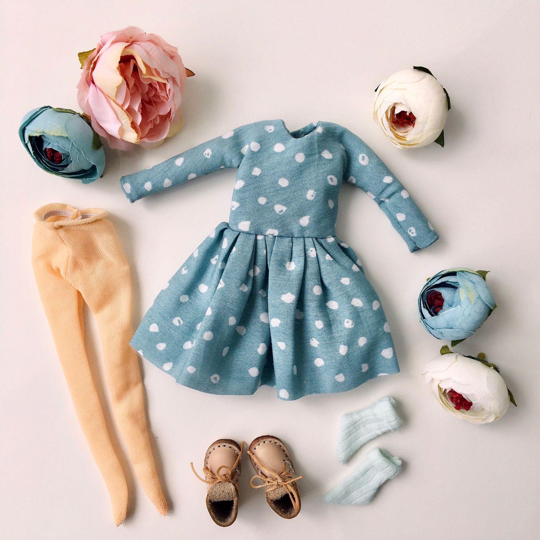 Комплект одежды для куклы Блайз ручная работа (4 предмета), Одежда для кукол, Нижний Новгород,  Фото №1