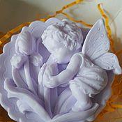 """Мыло ручной работы. Ярмарка Мастеров - ручная работа Мыло ручной работы """"Ангелочек и цветочек"""". Handmade."""