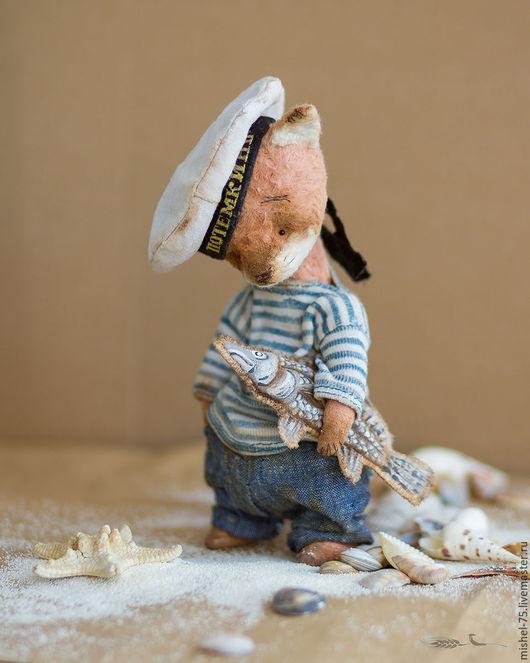 Мишки Тедди ручной работы. Ярмарка Мастеров - ручная работа. Купить Тёма Потёмкин. Handmade. Оранжевый, потемкин, опилки древесные