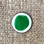 Материалы для творчества handmade. Livemaster - original item Overglaze paint SHINCERAMIC No. №3471 Grass-green. Handmade.