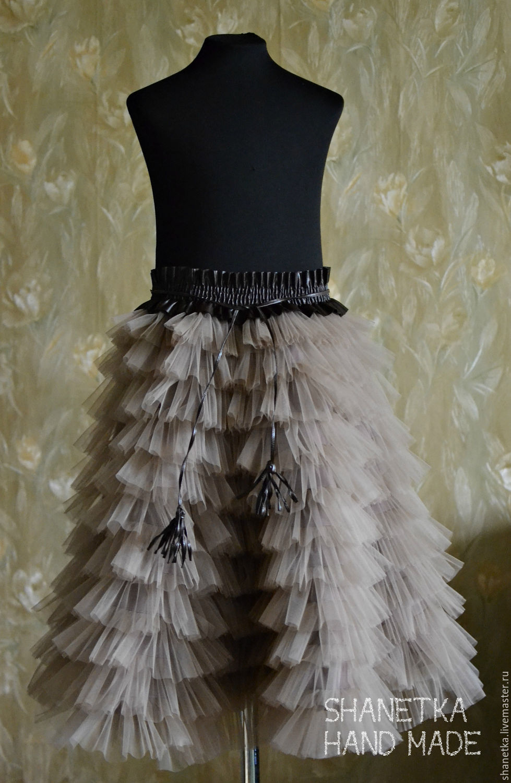 Купить юбку с воланами для девочки
