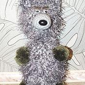 Куклы и игрушки ручной работы. Ярмарка Мастеров - ручная работа вязанные животные-погремушки. Handmade.
