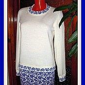 Одежда handmade. Livemaster - original item Jumper and skirt