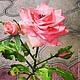 Подарки для влюбленных ручной работы. Ярмарка Мастеров - ручная работа. Купить Роза из хф полностью ручная работа. Идеальна для подарка, для приятнод. Handmade.