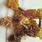 Материалы для творчества ручной работы. Ярмарка Мастеров - ручная работа Шебби лента 2 метра. Handmade.