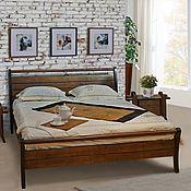 Кровати ручной работы. Ярмарка Мастеров - ручная работа Кровать Pacific из массива дерева в восточном стиле. Handmade.