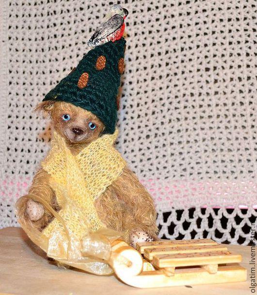 Мишки Тедди ручной работы. Ярмарка Мастеров - ручная работа. Купить Мишка для тебя.. Handmade. Бежевый, стеклянные глазки