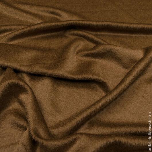 Шитье ручной работы. Ярмарка Мастеров - ручная работа. Купить Драп пальтовый с альпакой (кэмел) (005102). Handmade. Ткань, коричневый