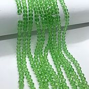 Beads1 handmade. Livemaster - original item Beads: the rondels 4 mm. Handmade.