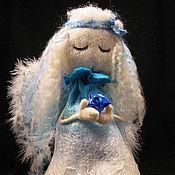Куклы и игрушки ручной работы. Ярмарка Мастеров - ручная работа Ангел в голубом. Handmade.