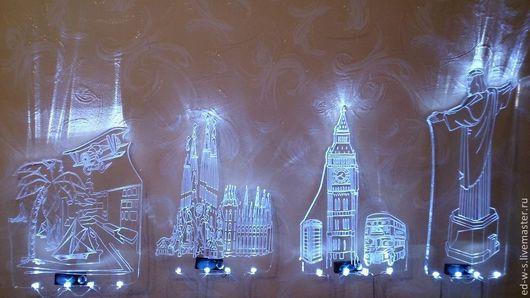 Дизайн интерьеров ручной работы. Ярмарка Мастеров - ручная работа. Купить Лазерная резка и фрезерная гравировка на оргстекле. Handmade. Оргстекло