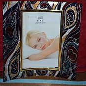 Сувениры и подарки ручной работы. Ярмарка Мастеров - ручная работа Рамка для фотографий. Handmade.