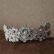 Украшения handmade. Livemaster - original item Soutache bracelet. Handmade.