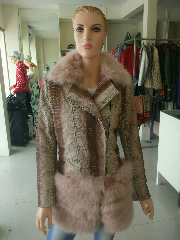 Зимняя куртка из питона, Куртки, Москва, Фото №1
