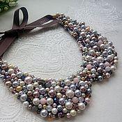 """Аксессуары handmade. Livemaster - original item Necklace-collar """"Elegant look"""". Handmade."""