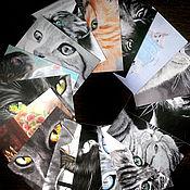 Открытки ручной работы. Ярмарка Мастеров - ручная работа Наборы открыток  15х10 см. Handmade.
