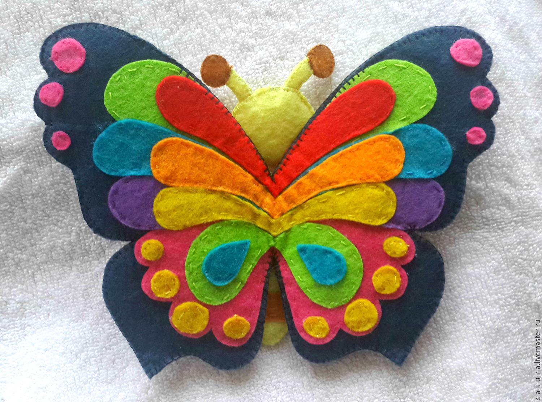 Бабочка из флиса своими руками фото 630