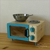 Мягкие игрушки ручной работы. Ярмарка Мастеров - ручная работа Игрушечная печка. Handmade.
