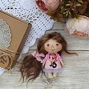 Текстильная кукла малышка. Текстильная кукла купить.