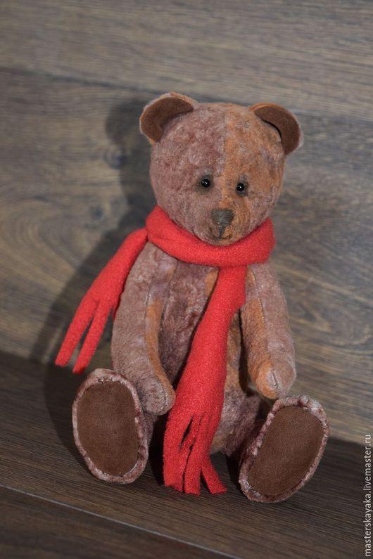 Мишки Тедди ручной работы. Ярмарка Мастеров - ручная работа. Купить Мишка Топтыжка. Handmade. Коричневый, плюш винтажный