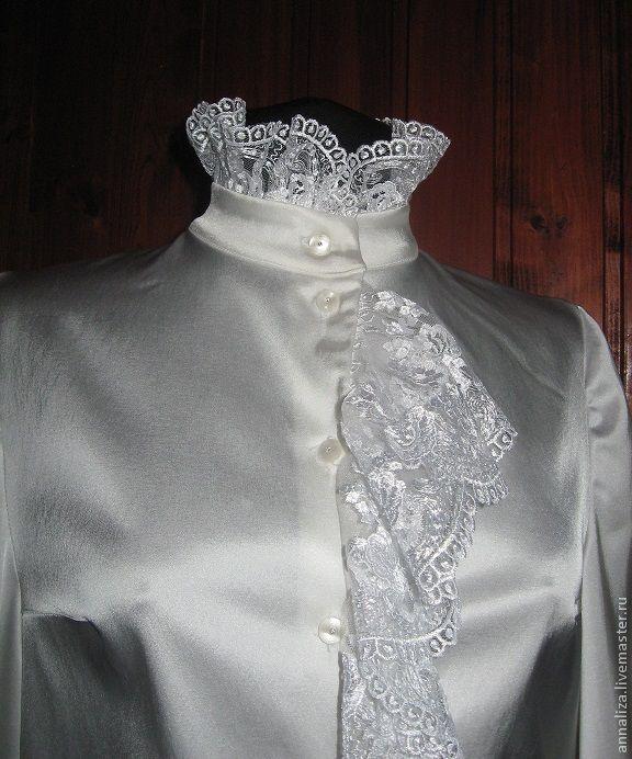 Блузки ажурные купить