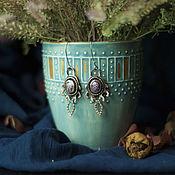 Украшения ручной работы. Ярмарка Мастеров - ручная работа Mysterious Forest (серьги). Handmade.