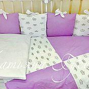 Бортики и комплект в кроватку
