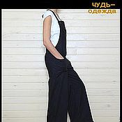 Одежда ручной работы. Ярмарка Мастеров - ручная работа Комбинезоны чёрный  и хаки. Handmade.