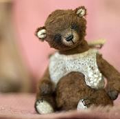 Куклы и игрушки ручной работы. Ярмарка Мастеров - ручная работа Медвежонок  тедди Минни. Handmade.