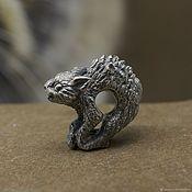 Материалы для творчества handmade. Livemaster - original item Spooky cat charm. Handmade.