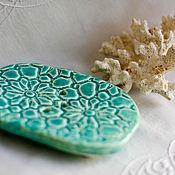 Для дома и интерьера ручной работы. Ярмарка Мастеров - ручная работа Мыльницы ручной работы овальные. Handmade.