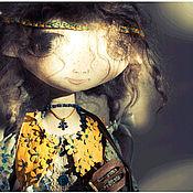Куклы и игрушки ручной работы. Ярмарка Мастеров - ручная работа Авторская текстильная кукла для больших девочек, ну и мальчиков.. Handmade.