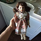 Винтаж handmade. Livemaster - original item Vintage porcelain doll. Handmade.