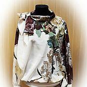 Одежда handmade. Livemaster - original item Silk blouson of fabrics Valentino. Handmade.