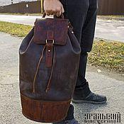 Классическая сумка ручной работы. Ярмарка Мастеров - ручная работа Кожаный рюкзак ручной работы. Handmade.