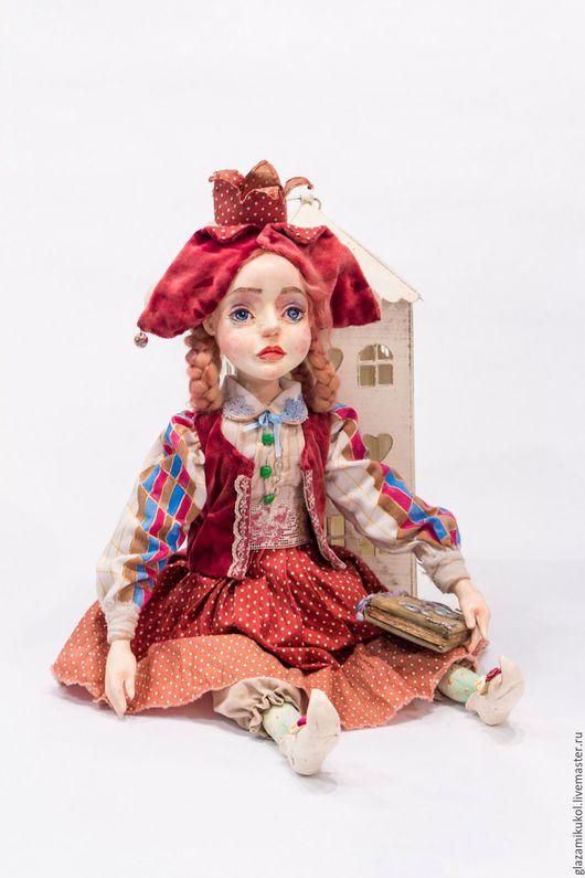 Коллекционные куклы ручной работы. Ярмарка Мастеров - ручная работа. Купить Принцесса ситцевого бала. Handmade. Коралловый, коллекционная кукла