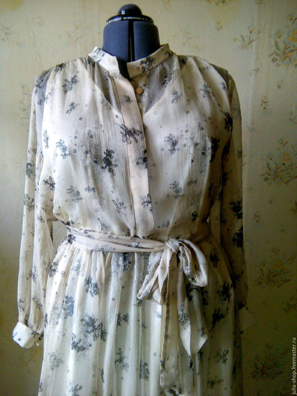 Купить платья из крепдешина