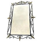 Для дома и интерьера handmade. Livemaster - original item Wrought iron mirror
