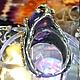 Кольца ручной работы. Перстень с Аметистом в серебре 925 пробы.. Cерега Ихтиандров (romantiklive). Ярмарка Мастеров. Серебро 925 пробы