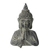 Для дома и интерьера handmade. Livemaster - original item The statue-panels Buddha large concrete gray with dust. Handmade.