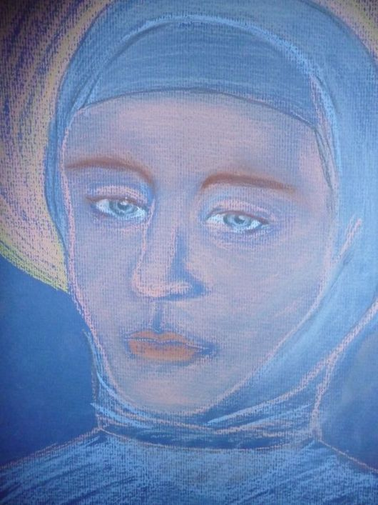 Иконы ручной работы. Ярмарка Мастеров - ручная работа. Купить Пресвятая Богородица. Handmade. Бумага