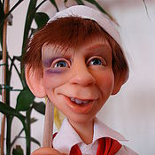 """Куклы и игрушки ручной работы. Ярмарка Мастеров - ручная работа """"А чёй-то вы здесь делаете?"""" (2010) Ед. экз.. Handmade."""